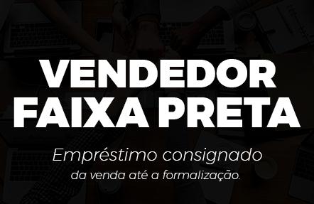 VENDEDOR FAIXA-PRETA